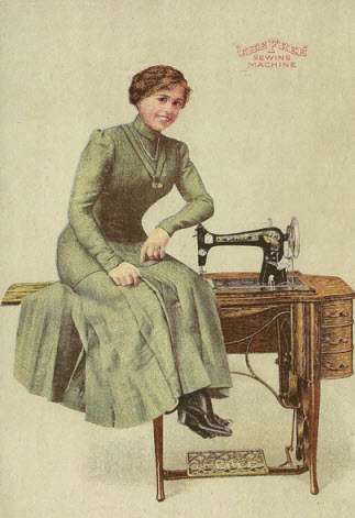 lady on machine
