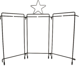 Free Standing Displays For Your Table Top Decorative Wire